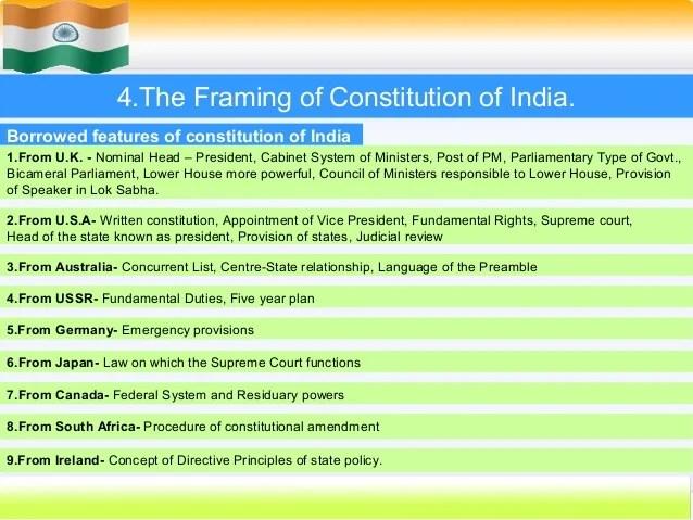 Framing Of Indian Constitution Pdf   Framejdi org
