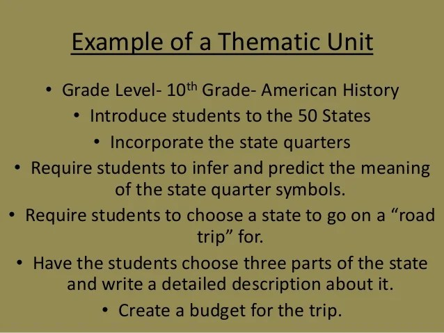 Examples Teaching Methods