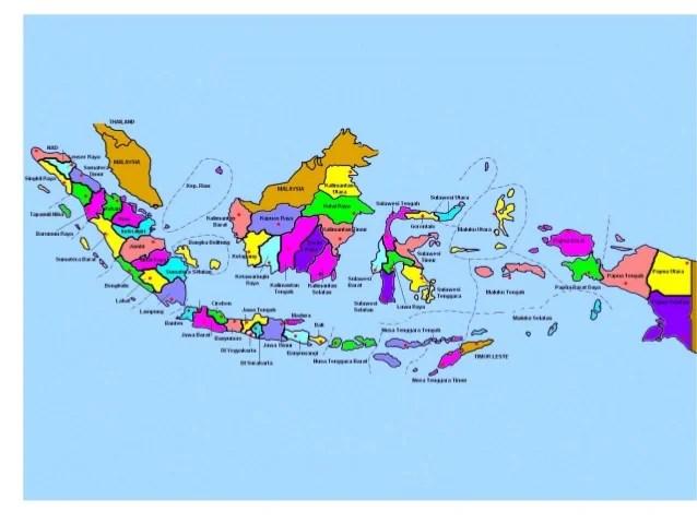 Indonesia 34 Provinces