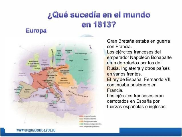 Gran Bretaña estaba en guerracon Francia.Los ejércitos franceses delemperador Napoleón Bonaparteeran derrotados por los de...
