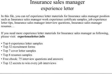 Maison Décoration 2018 » no experience insurance sales cover letter ...