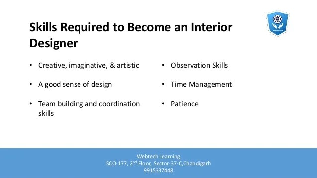 What subjects do you need to become an interior designer for What degree do you need for interior design