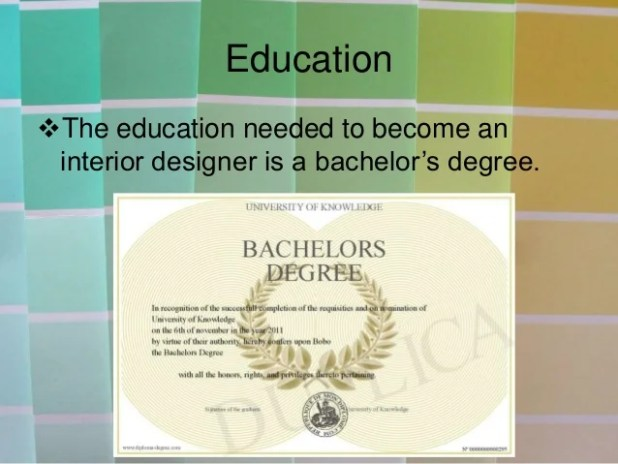 Interior Design Degree Job Opportunities