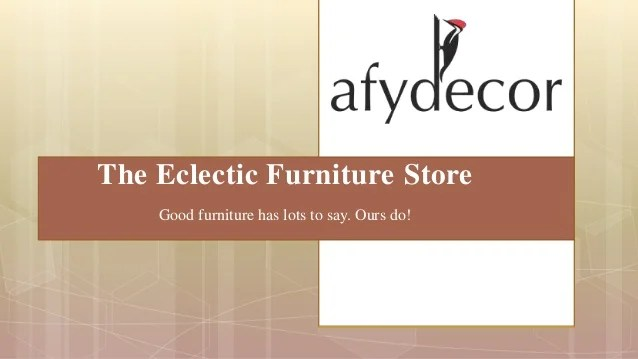 Good Online Furniture Stores