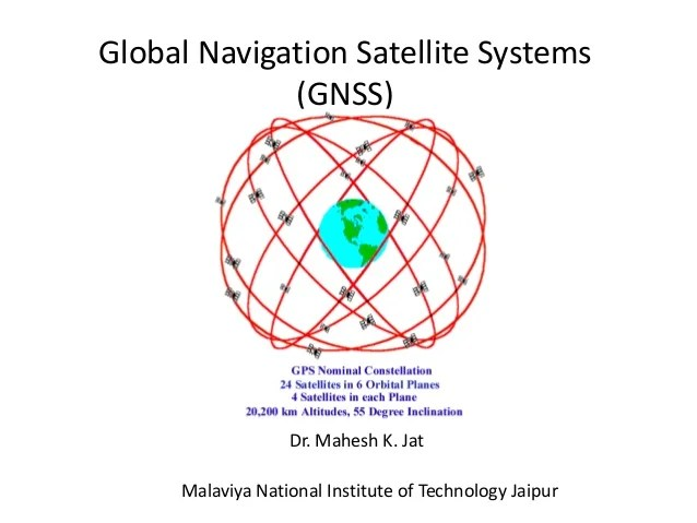 Introduction of gps global navigation satellite systems