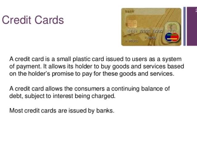 22 23 Credit Cards