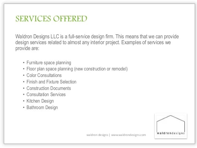 Interior design introductory letter for prospective - Letter of agreement interior design examples ...