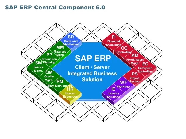 Sap R 3 Modules Diagram