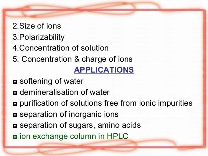 Ion Exchange Chromatography Ppt - Modern Home Revolution
