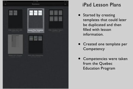 Physical Education iPad Lesson Planning     Lesson Plans  4