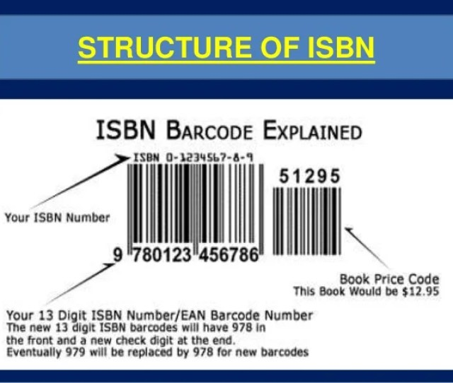 Structure Of Isbn 16