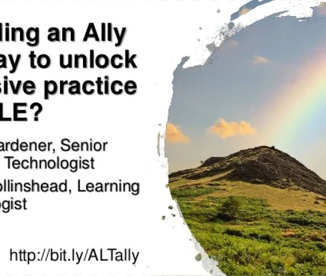Sensitivity Internal Is Finding An Ally The Way To Unlock Inclusive Practice In A Vle Sensitivity Internal Inclusive Derby Cc  Public Domain