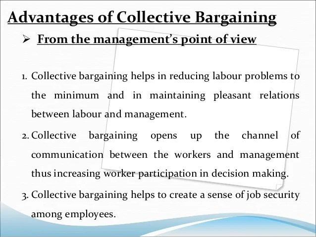 Employee Discipline Amp Collective Bargaining