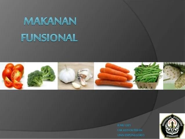 Identifikasi produk makanan fungsional khas daerah nama dac1ab nama produk nabati no. Jenis Dan Sifat Makanan Fungsional