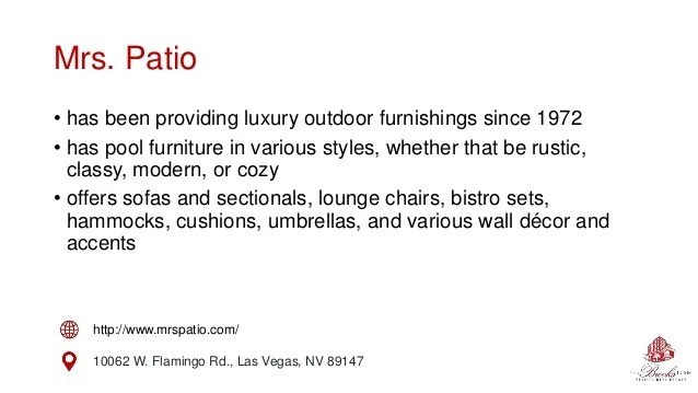 modern furniture in las vegas for your pool