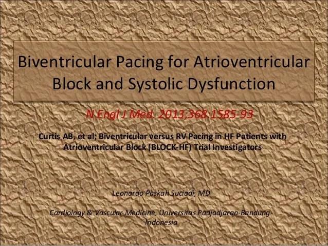 biventricular pacing for atrioventricular block and - 638×479
