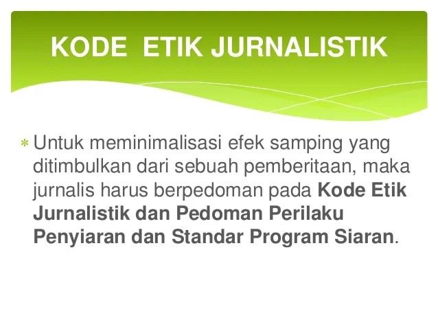 Image Result For Kode Etik Dalam Jurnalisme