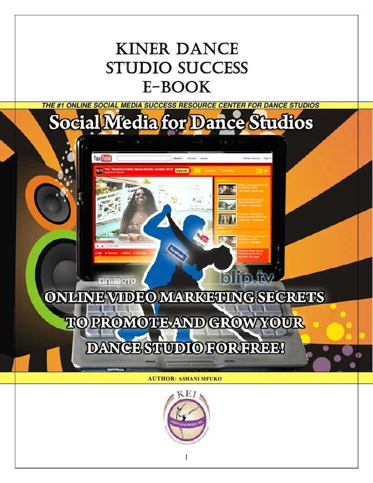 Dance Studio Marketing Secrets - How To Use Online Videos ...