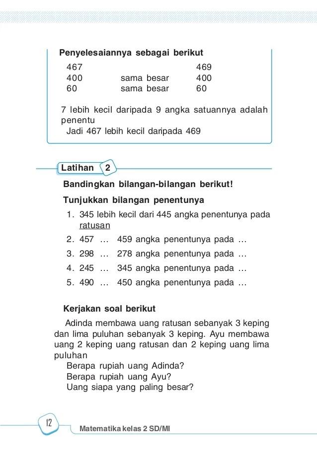 Matematika Dasar Sd Kelas 2