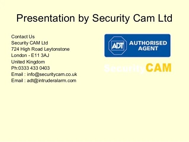 Monitored Burglar Alarm Systems Home