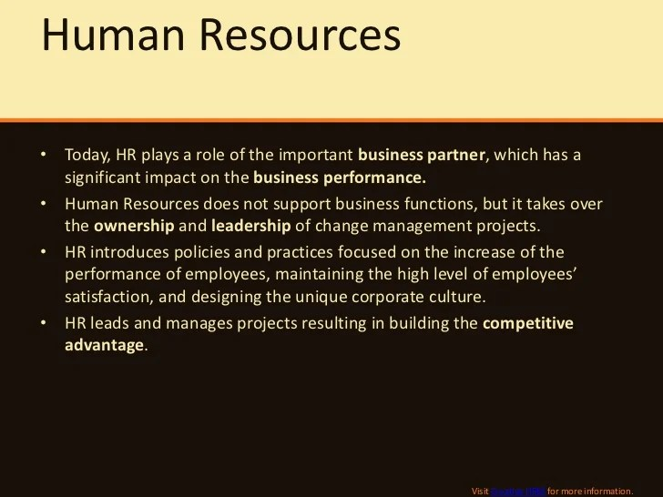 Key HR Roles and Responsibilities