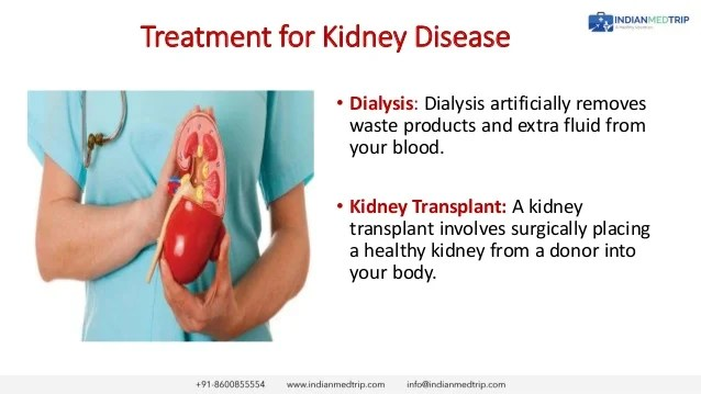 Kidney disease early detection and treatment