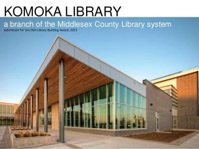 Komoka Library building
