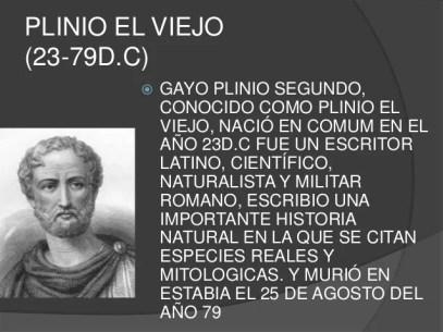 Resultado de imagen para Plinio el Viejo