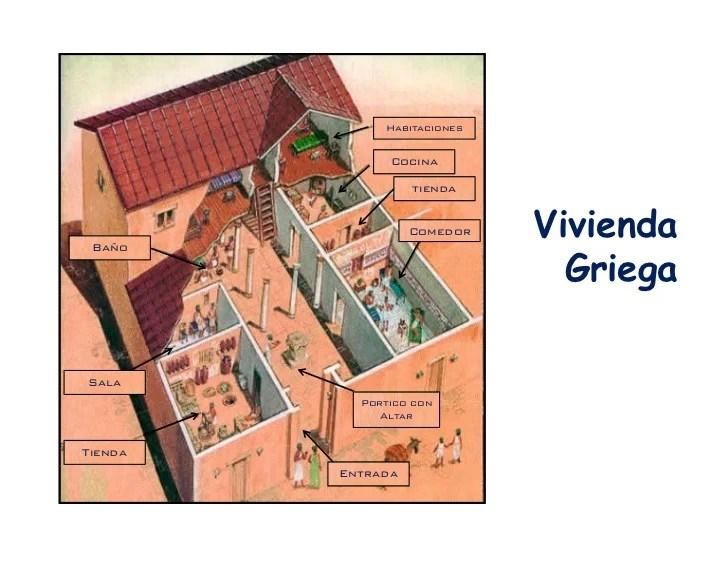 Resultado de imagen de vivienda griega