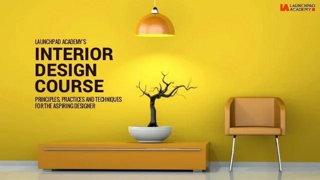 Basic Interior Design Course