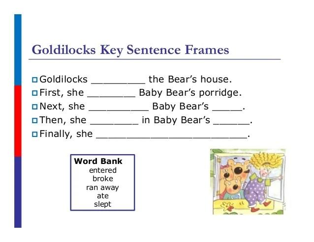 sentence frames for ells   Frameswalls.org