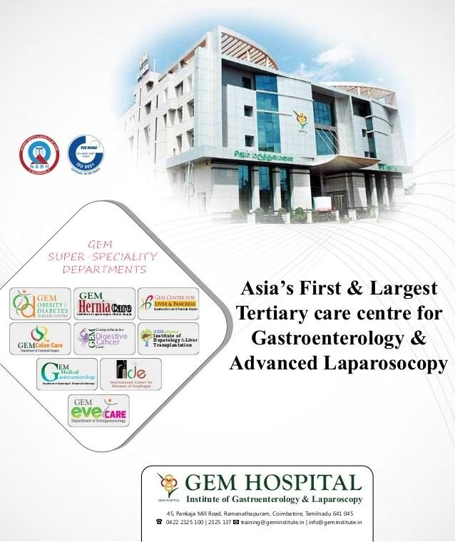 GEM Hospital Institute of Gastroenterology & Laparoscopy