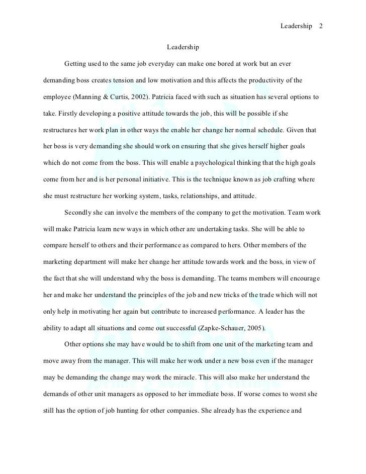 Best leadership experience essay   mistyhamel.
