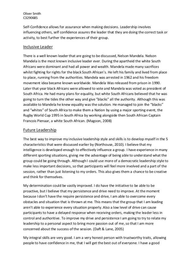 Persuasive Essay Ideas For High School  Essay On My School In English also Yellow Wallpaper Essays Essay On My Leadership Experience  Mistyhamel Science Essay Example