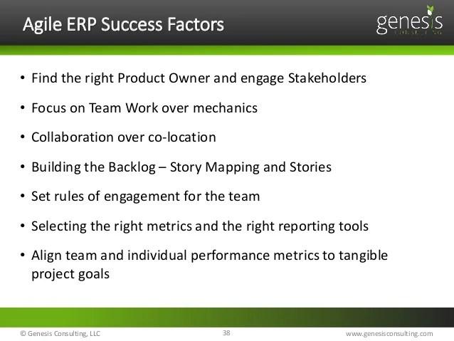 Lean and Agile SAP