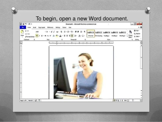 How to create a simple  fillable form using Microsoft Word To begin  open a new Word document