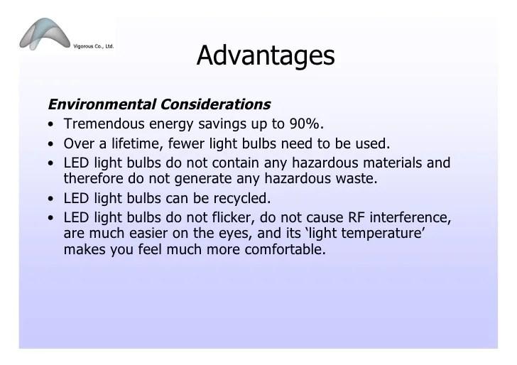 Led Changing Light Bulb