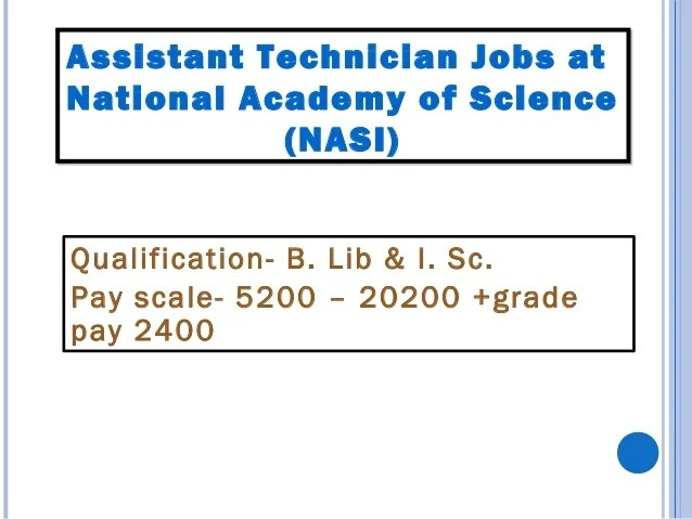 Regional Institute of Health & Medical science Shillong Post- Assistant librarian and Senior library & information Assista...