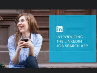 Presentación de la App Job Search Nueva LinkedIn para iPhone