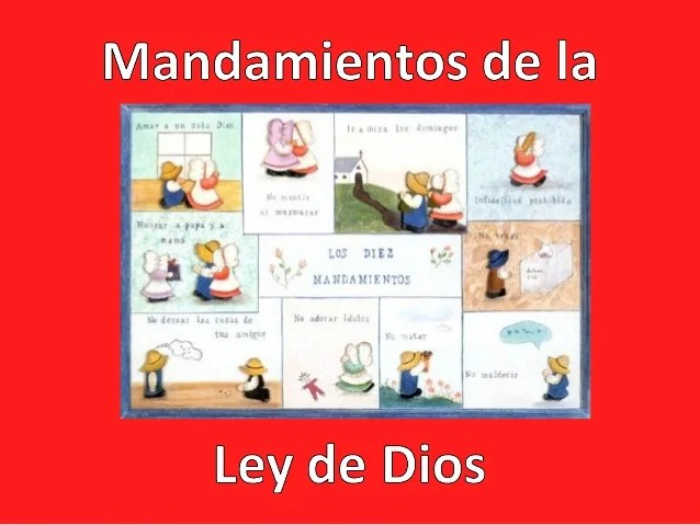 7 La De Dios Ley De Sacramentos Los