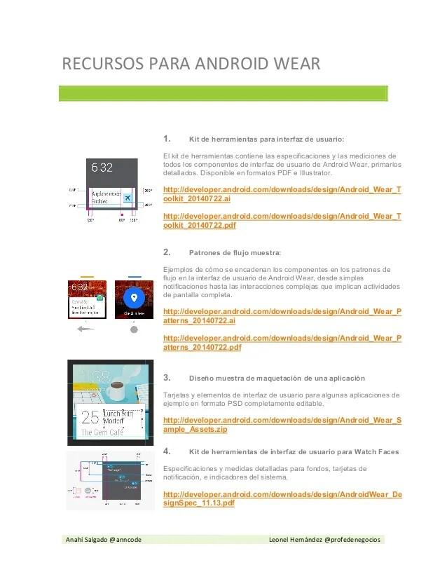 Android Wear Diseo Emuladores Entorno De Desarrollo
