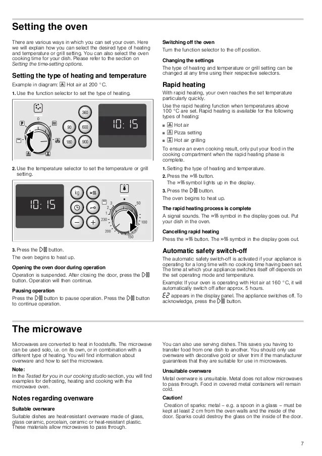 manual bosch horno multifuncion inox