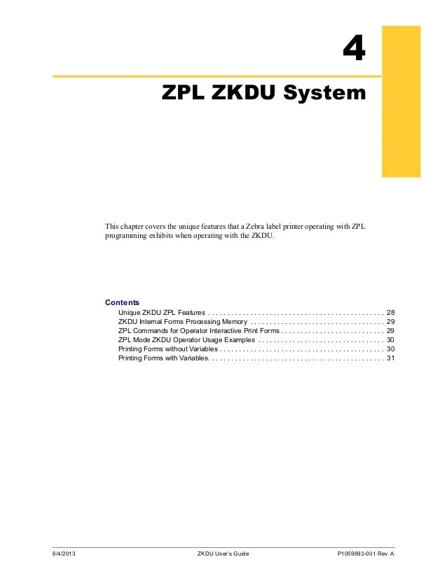 Zebra Zpl Programming Manual - Best Zebra 2018
