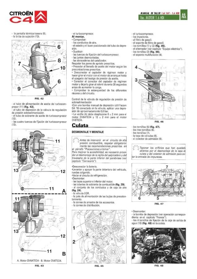 MANUAL DE TALLER CITROEN C2 HDI  Auto Electrical Wiring Diagram