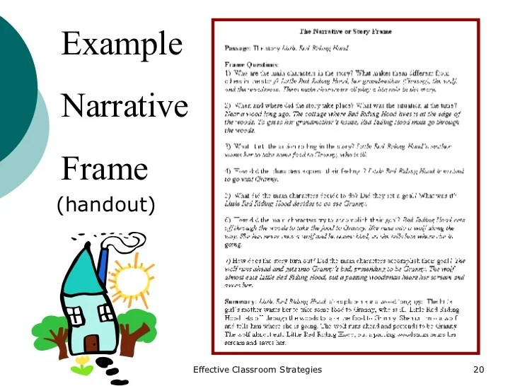 Perfect Story Frame Example Adornment - Frames Ideas - ellisras.info