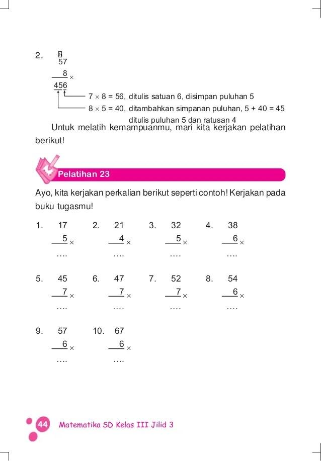 Update info harga dari produk buku quadra kelas x yang anda inginkan dari jutaan toko. Soal Matematika Kelas 3 Sd Penjumlahan Dan Pengurangan