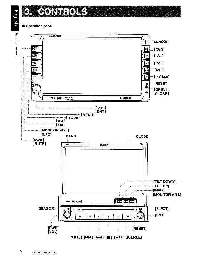 Clarion Vrx815 Stereo Wiring Diagrams - Wiring Diagram