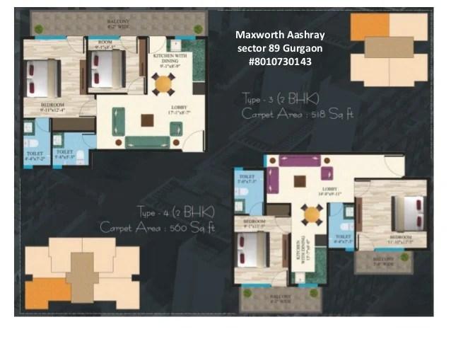 Maxworth Aashray sector 89 Gurgaon #8010730143