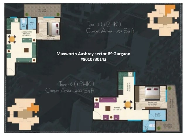 Maxworth Aashray sector 89 Gurgaon #8010730143