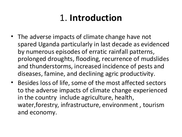 introduction about global warming for an essay | Infoletter.co